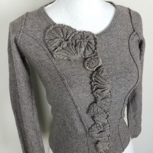 Anthro Sparrow Lambswool Cashmere Cardigan A0917
